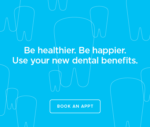 Be Heathier, Be Happier. Use your new dental benefits. - Towne Center Dental Group and Orthodontics