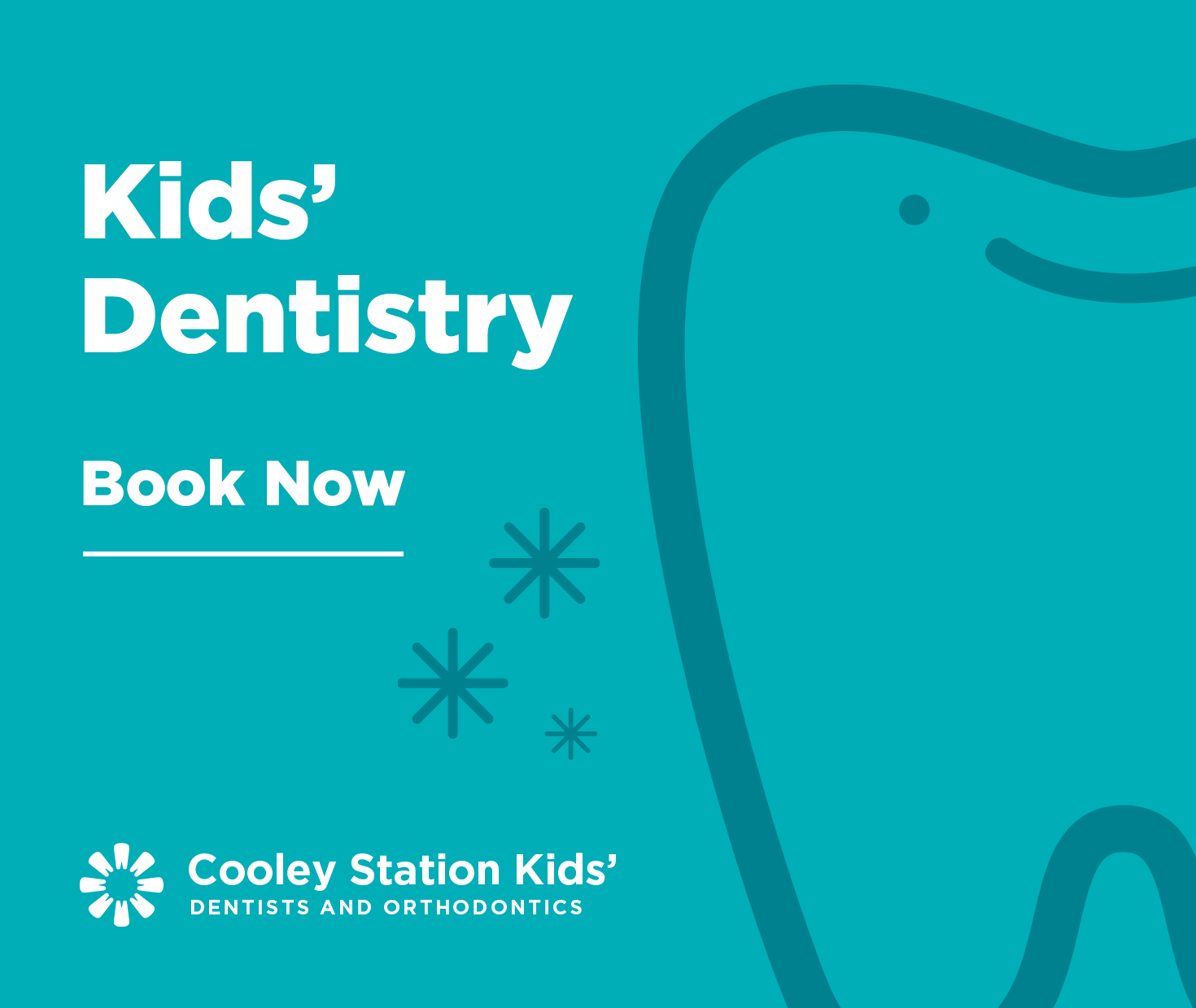 Book an appointment with our Kids' Dentistry.